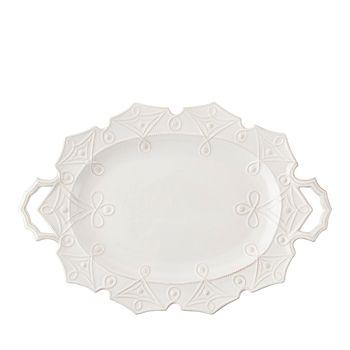 Juliska - Jardins du Monde Whitewash Turkey Platter