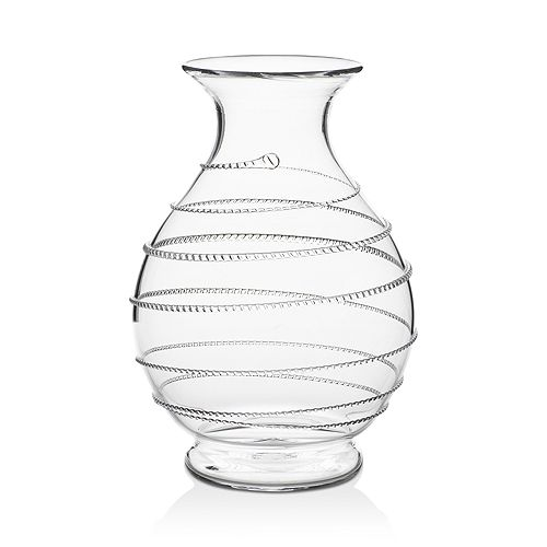 "Juliska - ""Amalia"" Round Glass Vase"