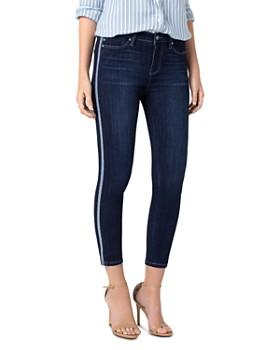fffeee0f2c0c7 Liverpool - Abby Tuxedo Stripe Cropped Skinny Jeans in Freemont ...