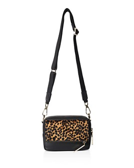 Whistles - Bibi Mini Leopard Shoulder Bag