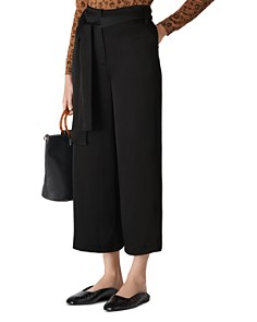 Whistles - Belted Wide-Leg Pants