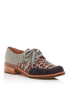 Chie Mihara - Women's Yong Apron-Toe Oxfords