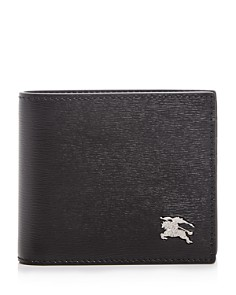 Burberry - Ronan London Leather Bi-Fold Wallet