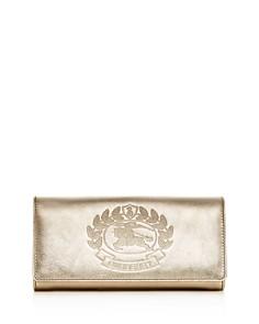 Burberry - Women's Halton Leather Continental Wallet