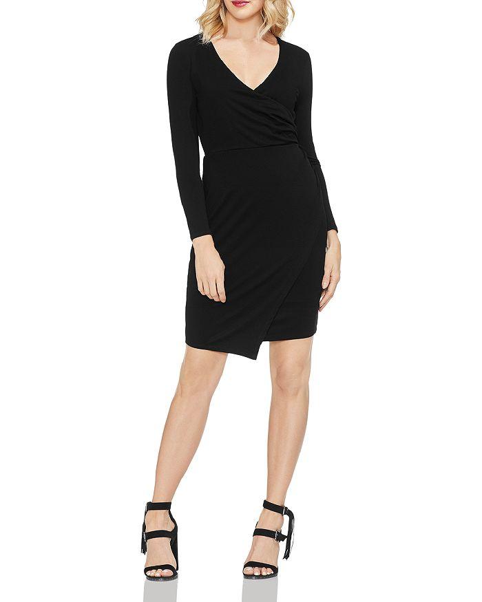 VINCE CAMUTO - Wrap Front Dress