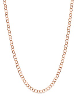 "Dodo - Light Chain in Rose Gold-Tone, 15.35"""