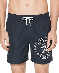 Original Penguin - Stamp Logo Swim Shorts