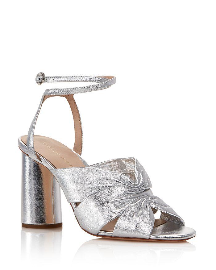 Loeffler Randall - Women's Tatiana Metallic Leather Sandals - 100% Exclusive