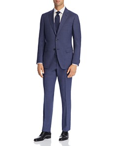 Z Zegna - Micro-Houndstooth Wool Slim Fit Suit - 100% Exclusive