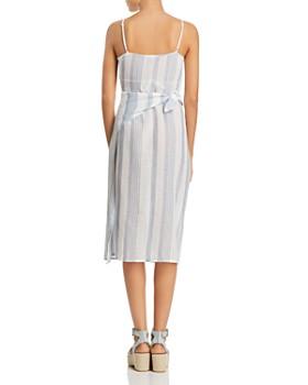 J. Valdi - Sardinia Wrap Midi Dress Swim Cover-Up
