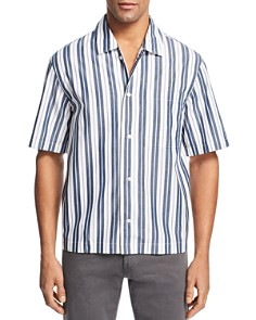 BOSS Hugo Boss - Ned Striped Regular Fit Button-Down Shirt