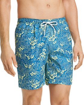 Trunks Surf & Swim Co. - Abstract Wave Swim Trunks