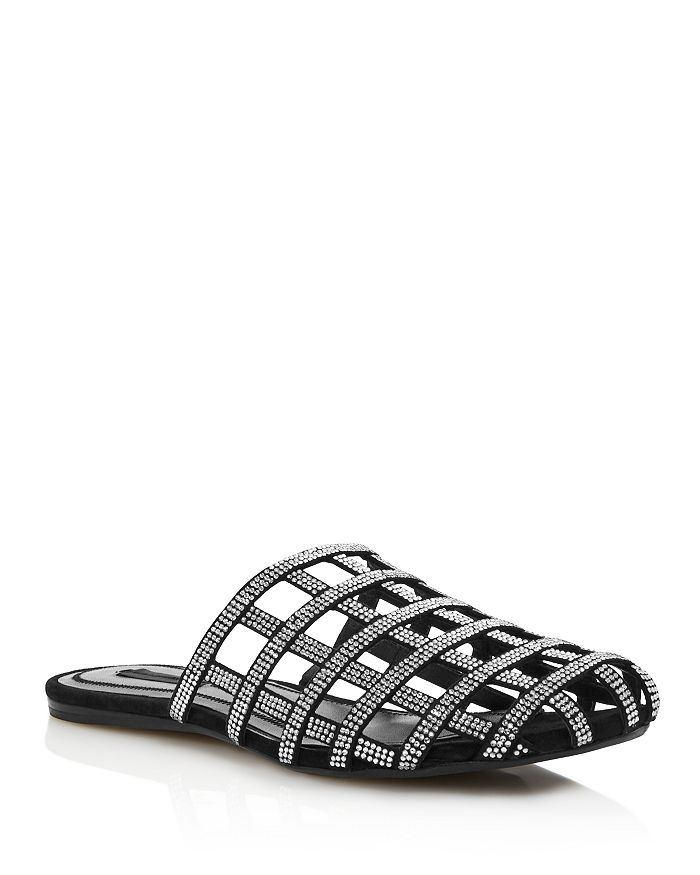Alexander Wang - Women's Alison Diamante Caged Flats