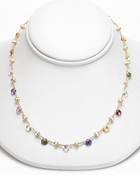 """Marco Bicego - """"Paradise Collection"""" Gold Necklace, 16"""""""