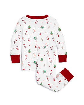 Kissy Kissy - Unisex 'Tis the Season Pajama Shirt & Pants Set - Baby