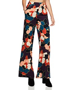 BCBGeneration - Floral Palazzo Pants