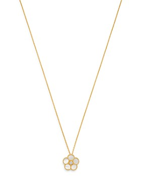 "Roberto Coin - 18K Yellow Gold Daisy Mother-of-Pearl & Diamond Pendant Necklace, 16"" - 100% Exclusive"