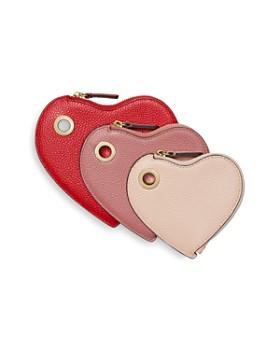 MICHAEL Michael Kors - Heart Color Block Leather Wristlet Trio