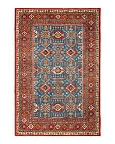 "Solo Rugs - Shirvan Collection Montgomery Hand-Knotted Area Rug, 6'2"" x 9'1"""