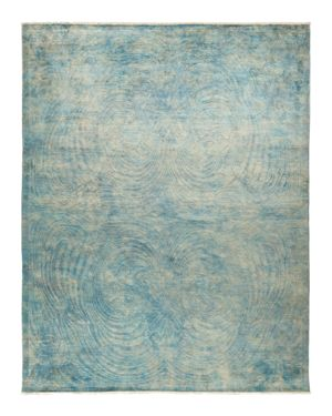 Solo Rugs Vibrance Collection Chamarel Hand-Knotted Area Rug, 9' x 11'7