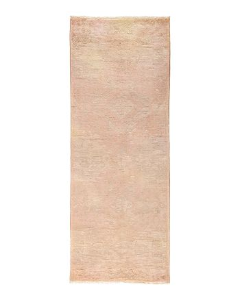 "Solo Rugs - Vibrance Collection Vita Hand-Knotted Area Rug, 3'2"" x 8'3"""