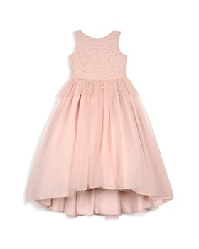 Badgley Mischka - Girls' Pearl-Embellished Dress - Little Kid