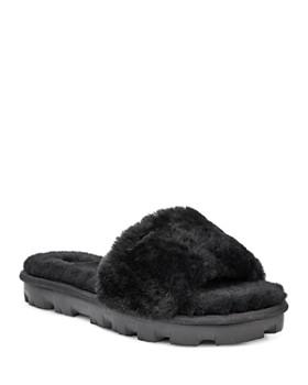 81defd73e6d UGG® - Women s Cozette Fur Slide Sandals ...