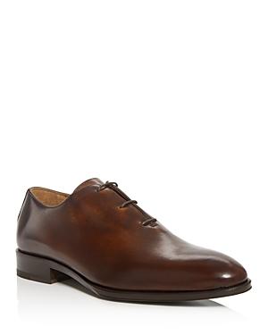 Pastori Men's Magnus Leather Plain-Toe Oxfords