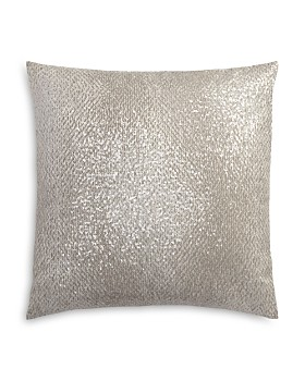 """Hudson Park Collection - Lustre Embroidered Decorative Pillow, 18"""" x 18"""" - 100% Exclusive"""
