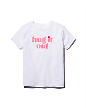 Prinkshop - x Darcy Miller Girls' Hug It Out Tee, Little Kid - 100% Exclusive