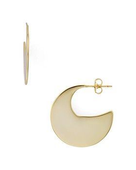 AQUA - Lunar Earrings in 14K Gold-Plated Sterling Silver - 100% Exclusive