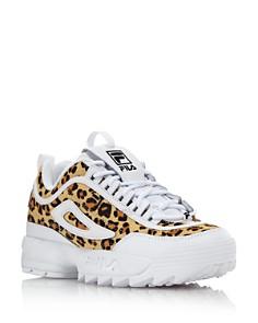 FILA - Women's Disruptor 2 Leopard Sneakers - 100% Exclusive