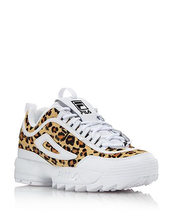 FILA Women's Disruptor 2 Leopard Sneakers 100% Exclusive