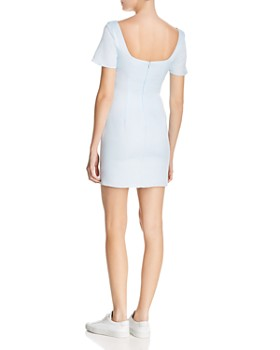 Fame and Partners - The Loella Short-Sleeve Mini Dress - 100% Exclusive