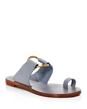ceb54d9be97a Tory Burch - Women s Ravello Studded Leather Slide Sandals ...
