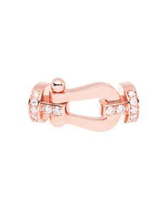Fred - 18K Rose Gold Force 10 Diamond Large Buckle