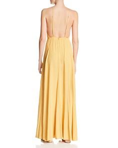 Re:Named - Vanessa Dot-Print Maxi Dress
