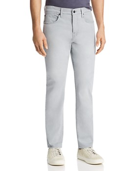 86862cd49791a 7 For All Mankind - Adrien Slim Fit Jeans in Light Grey ...