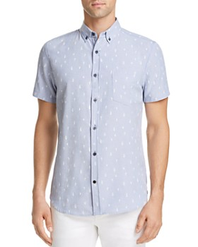 Sovereign Code - Crystal Cove Regular Fit Button-Down Shirt