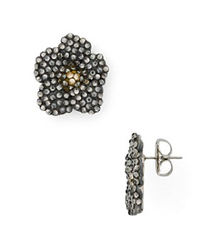 b72bed9fb33b9 Roni Blanshay - Flower Earrings ...