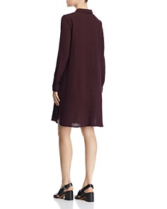 Eileen Fisher - Classic & Crinkled Shirt Dress