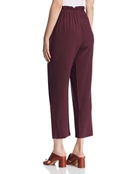 Eileen Fisher Petites - Straight-Leg Ankle Pants