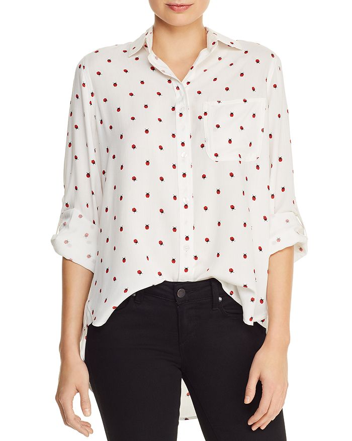 AQUA - Ladybug Print Shirt - 100% Exclusive
