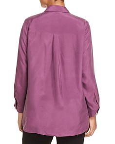 Eileen Fisher Plus - Silk Button-Down Blouse