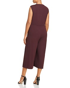 Eileen Fisher Plus - Overlay Wide-Leg Jumpsuit