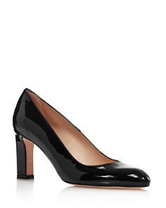 Stuart Weitzman - Women's Anne Almond-Toe Pumps