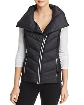 AQUA - Asymmetric Puffer Vest - 100% Exclusive