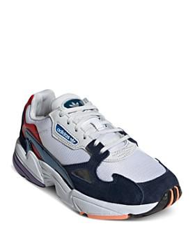 Adidas - Women's Falcon Color-Block Low-Top Dad Sneakers