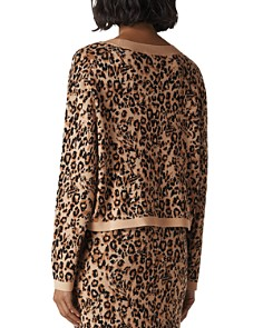 Whistles - Jungle-Cat Jacquard Sweater