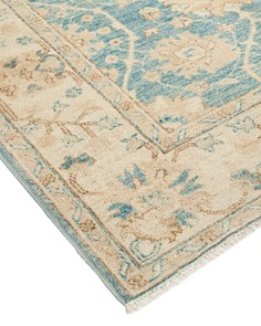 Solo Rugs - Oushak Collection Nuya Runner Rug, 4' x 18'10""